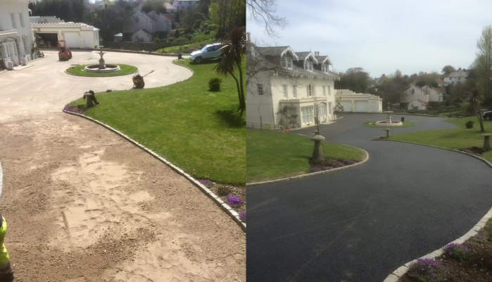 The Manor, Mount Row - New Bitmac Surfacing