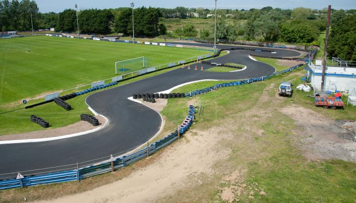 Go-kart Track - Resurfacing